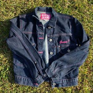 Vintage Guess Women's Denim Jacket
